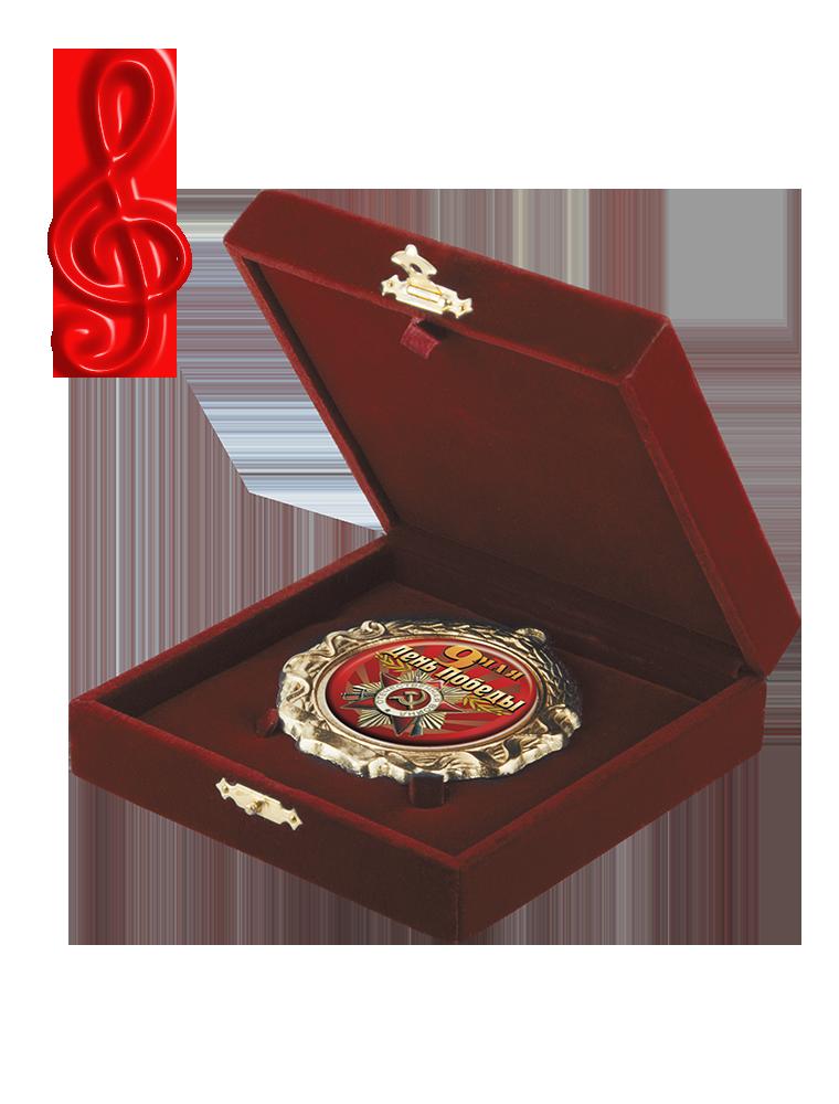 Футляр музыкальный для медалей (FU138)