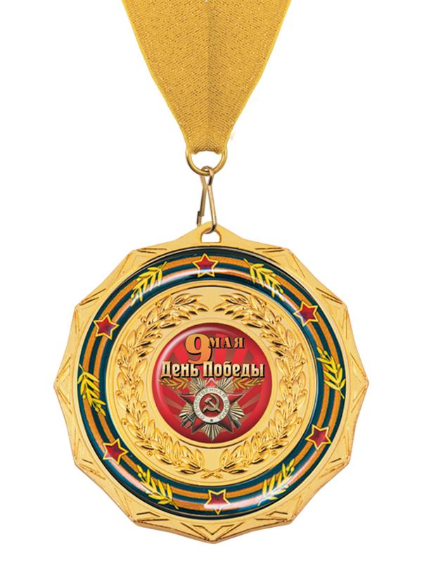 Медаль на ленте - MK202a_K-DP