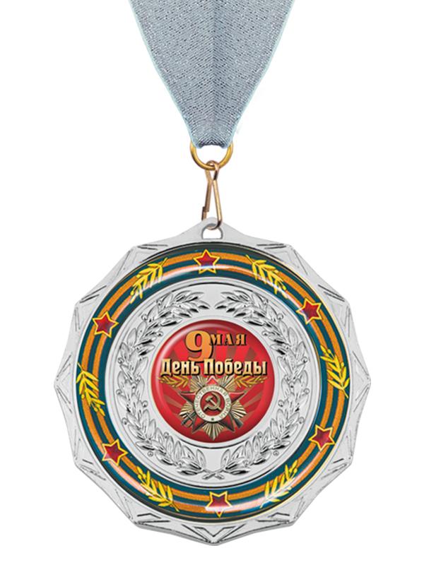 Медаль на ленте - MK202b_K-DP
