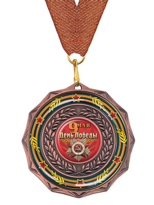 Медаль на ленте - MK202c_K-DP